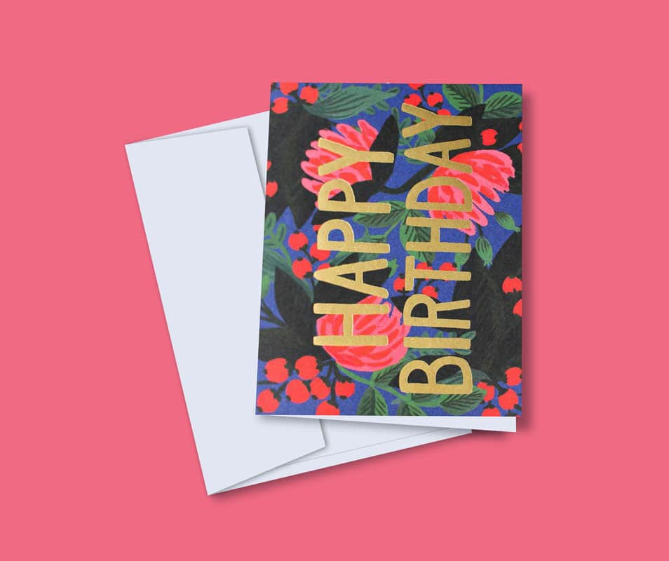 Free Greeting Card Mock-up PSD