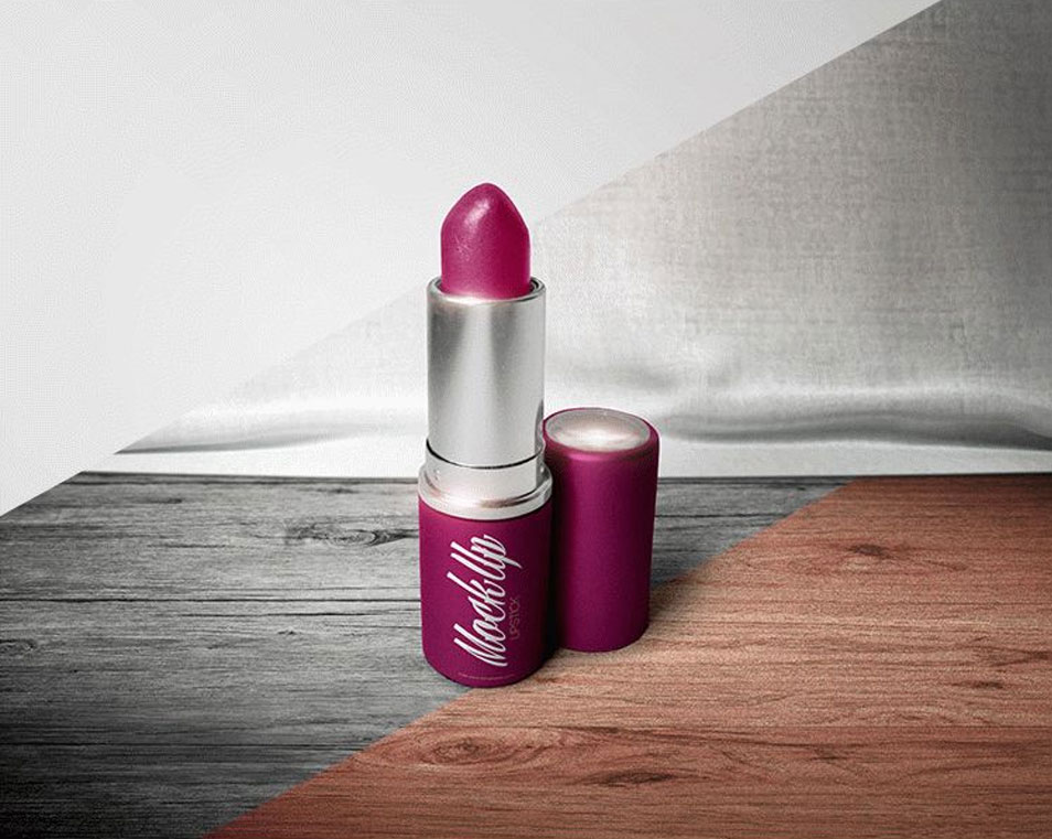 Free Lipstick Mock-up in PSD