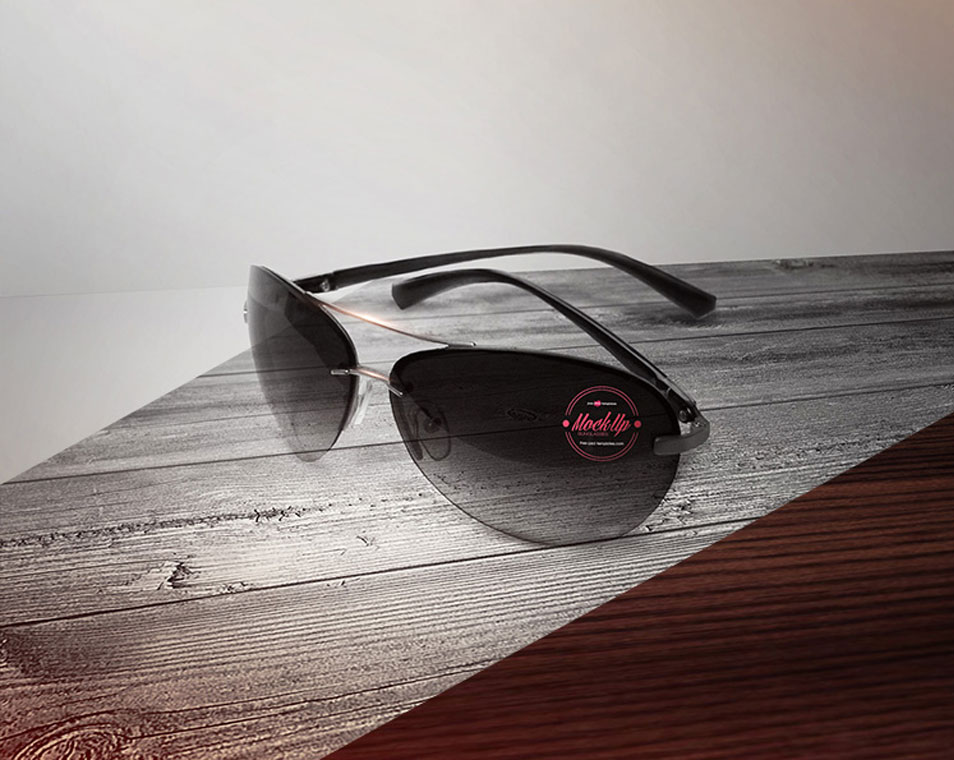 Free Sunglasses Mock-up in PSD