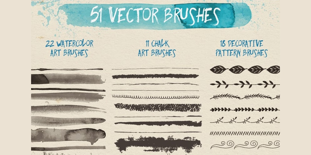 Free Vector Brushes
