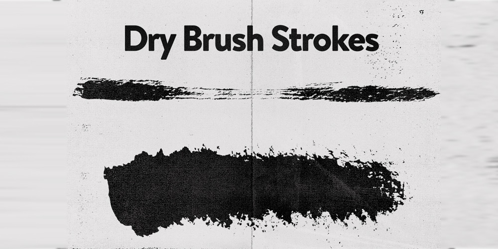 Free Vector Dry Brushes