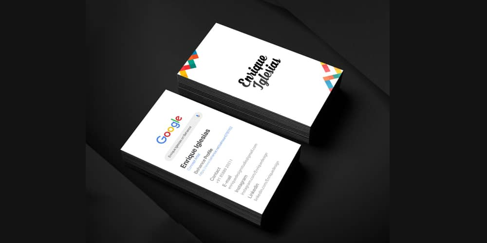 100+ Free Business Cards PSD 1