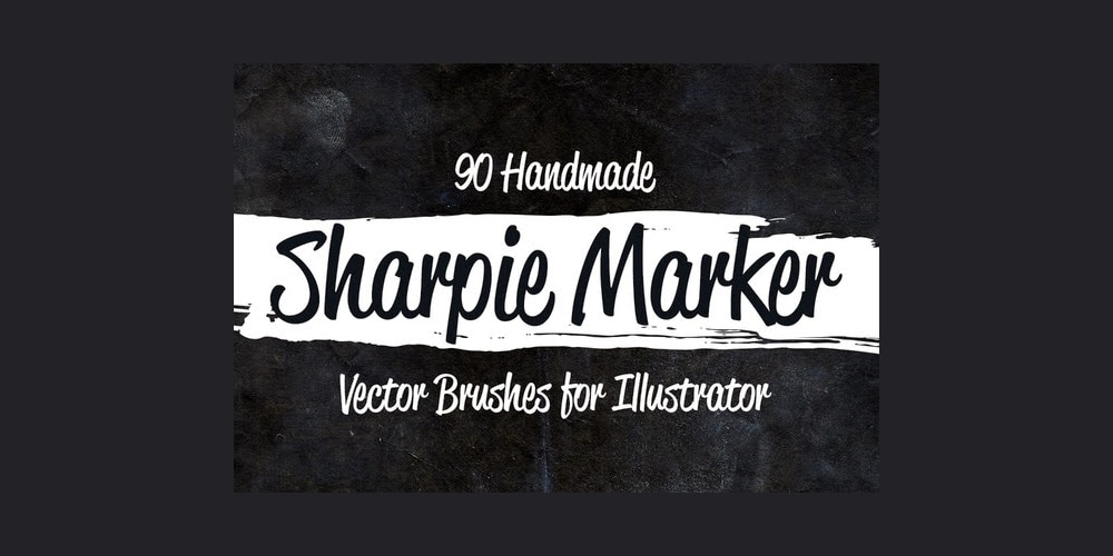 Sharpie Marker Vector Brushes