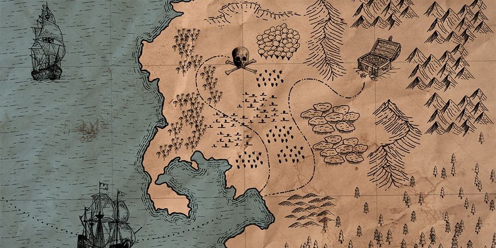 Treasure Map Maker for Adobe Illustrator