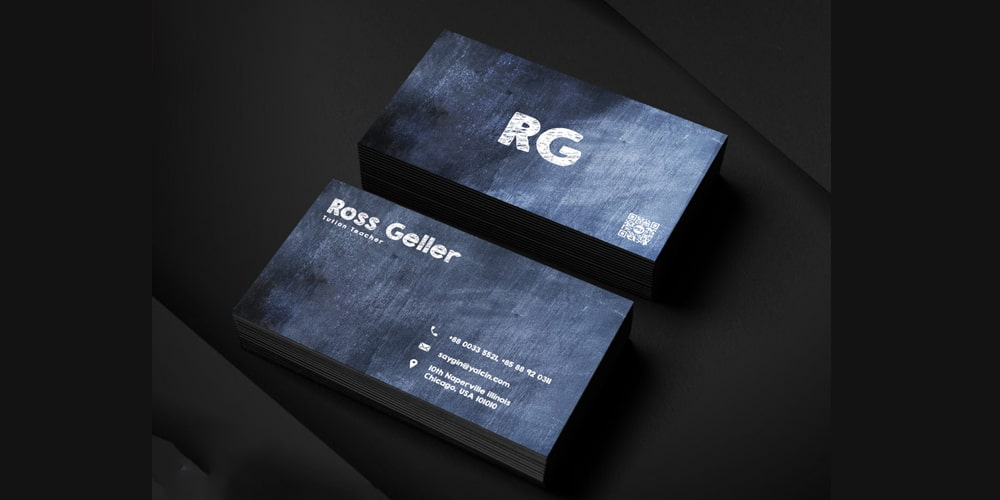 Tutor Business Card Template PSD