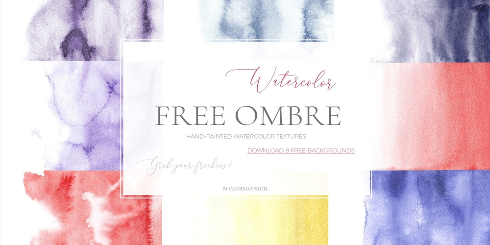 Watercolor Ombre Texture
