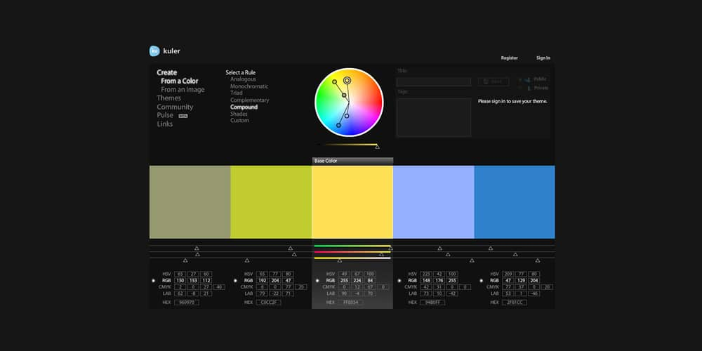 An Introduction to Color Theory for Web Designers