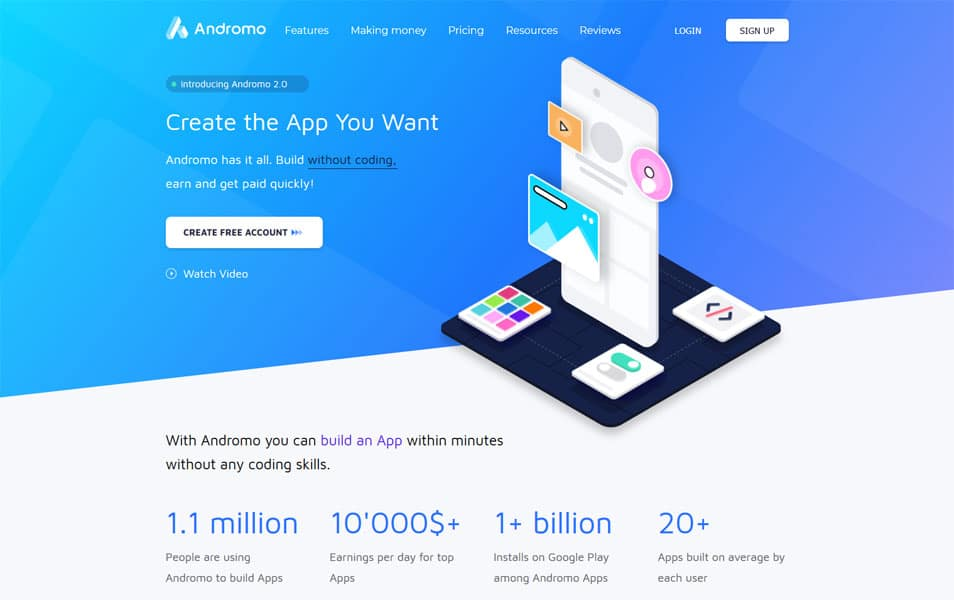 Andromo - Mobile App Builders