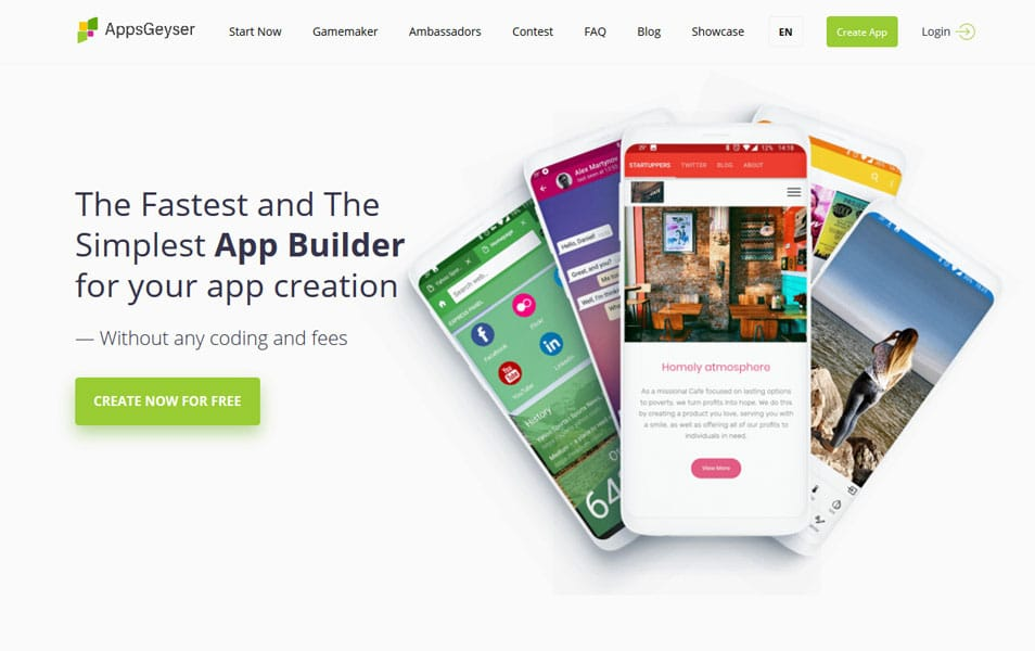 20+ Best Mobile App Builders 2019 » CSS Author