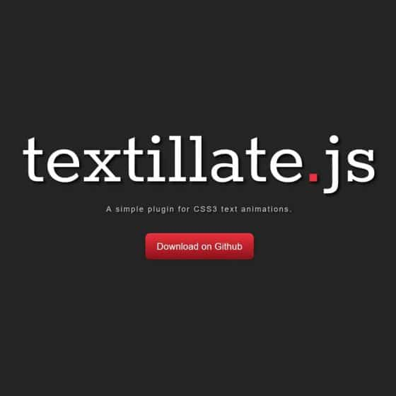 JavaScript Text Effect Libraries