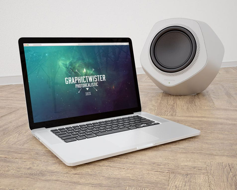 MacBook and Bang Olufsen Template