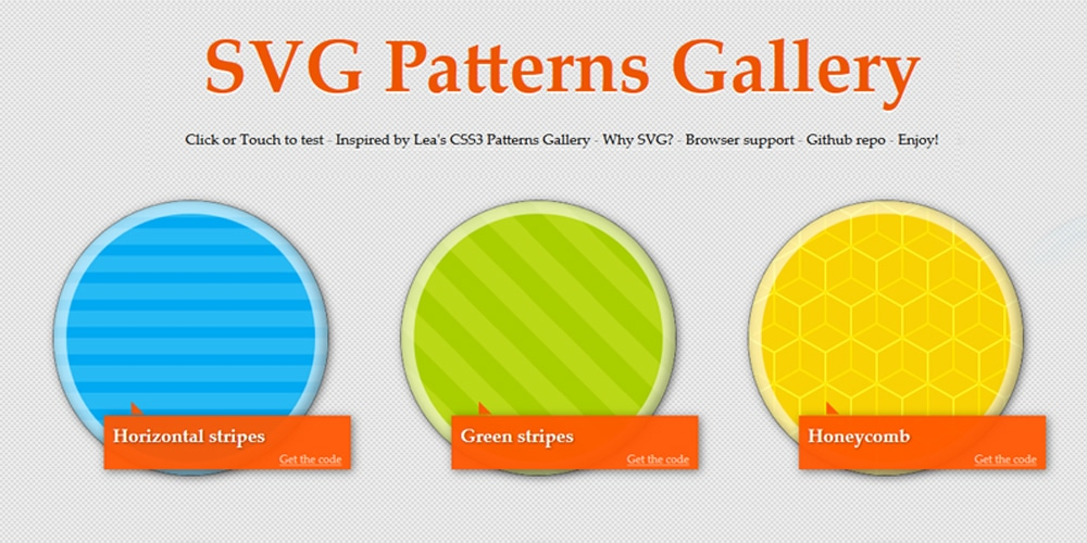 SVG Pattern Library