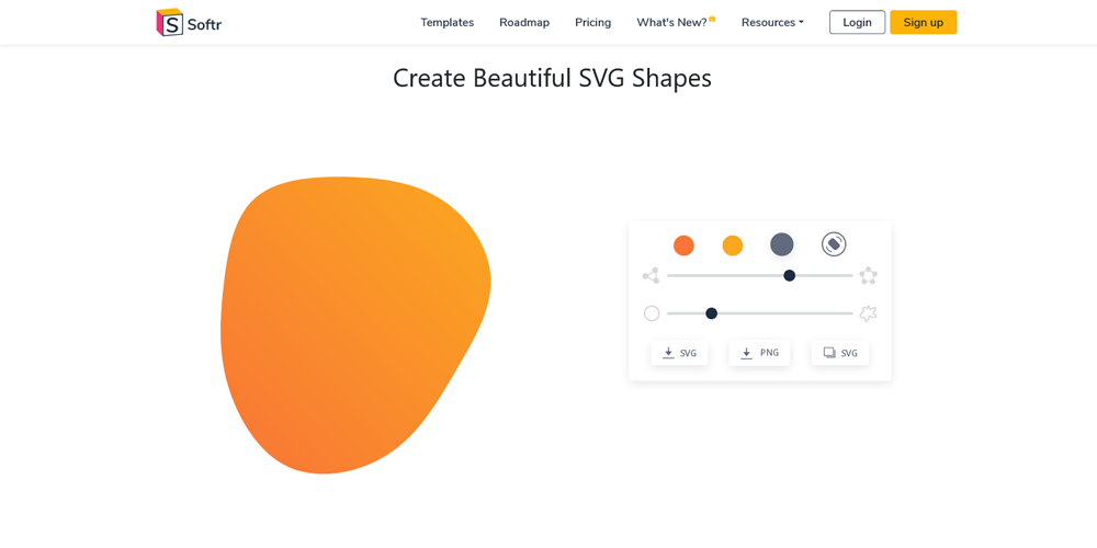 SVG Shapes Generator