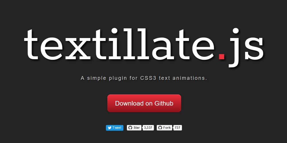 10 + JavaScript Text Effect Libraries » CSS Author