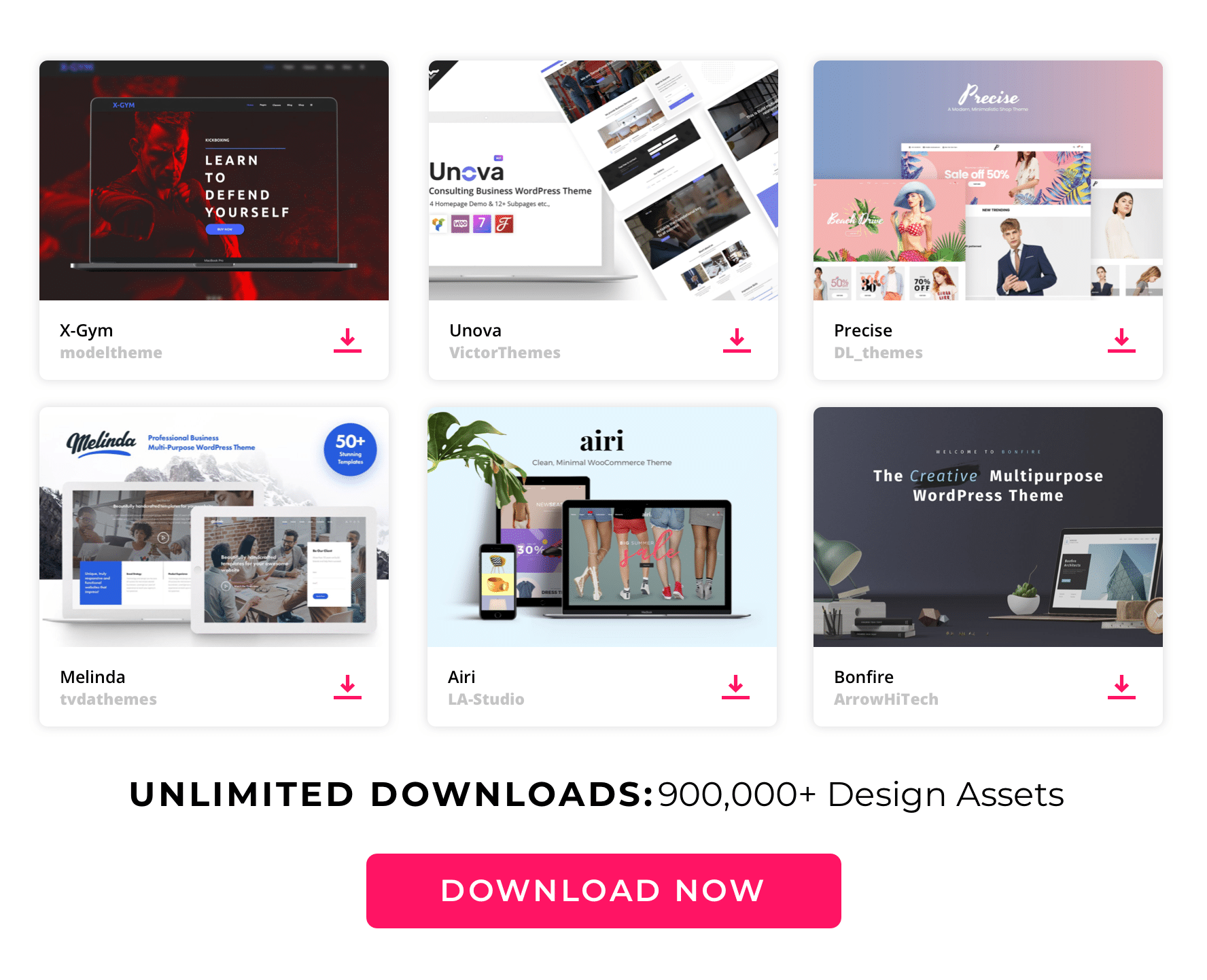 Envato Large content top WordPress Themes
