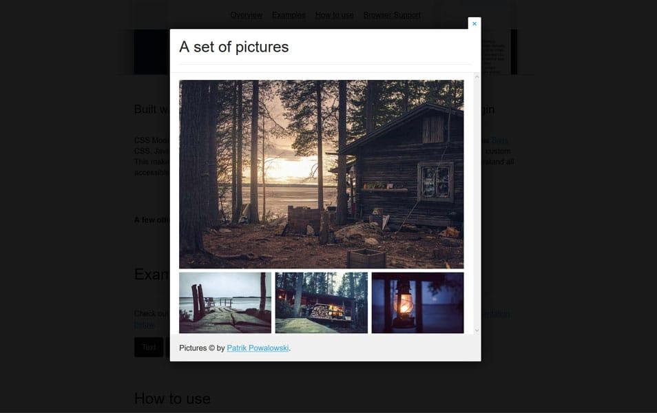 20+ Best JavaScript Modal Window Plugins » CSS Author