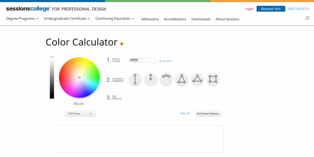 The Color Calculator
