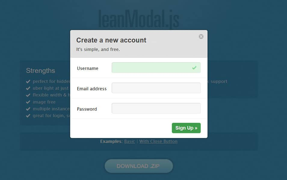 20+ Best JavaScript Modal Window Plugins » CSS Author