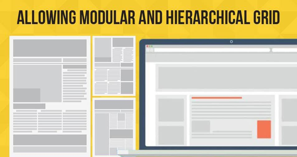Allowing modular and hierarchical grid