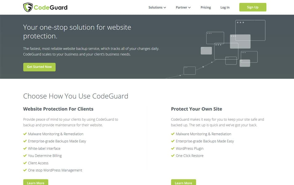 CodeGuard - WordPress Backup Plugins