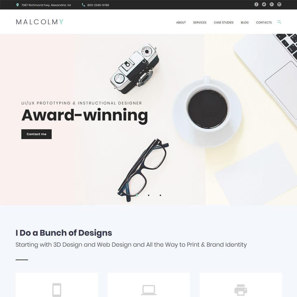 Top 10 Creative WordPress Blog Themes Of 2019 » CSS Author