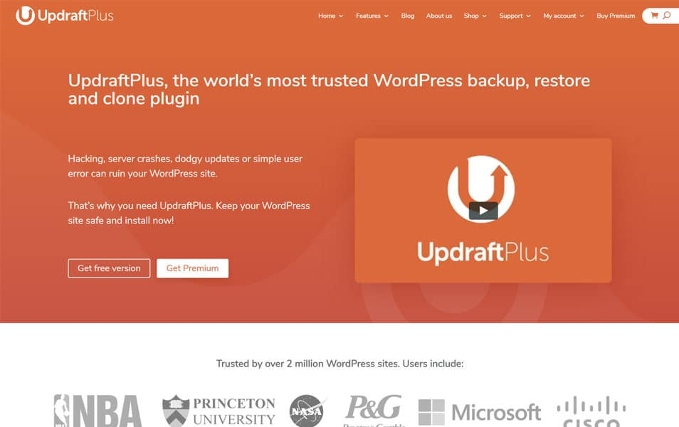 UpdraftPlus - WordPress Backup Plugins
