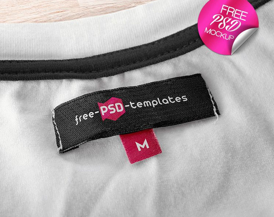 2 Free Apparel Tag Mock-up in PSD