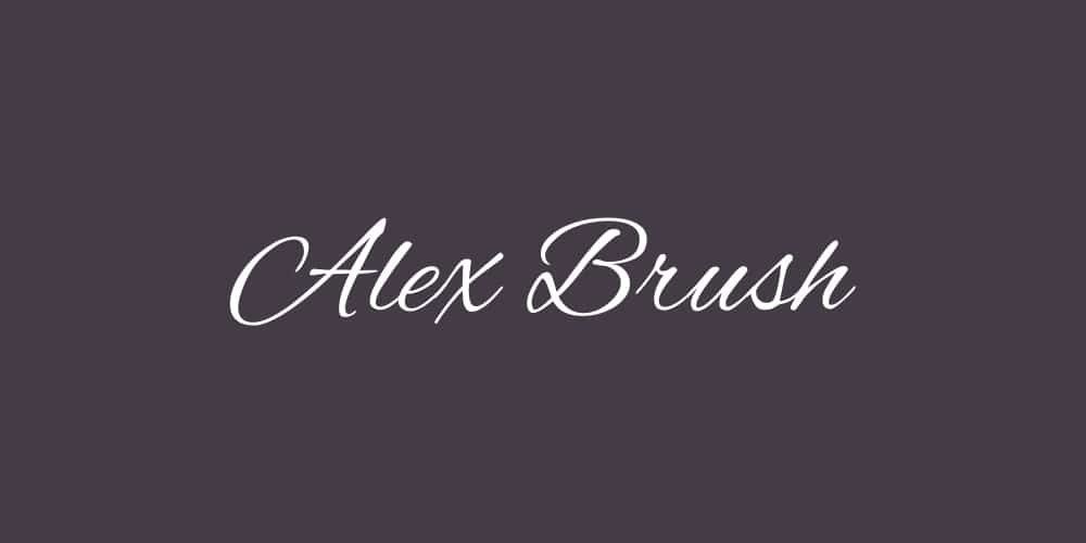 Alex Brush