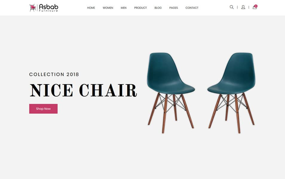 Asbab – Free Furniture eCommerce HTML5 Template