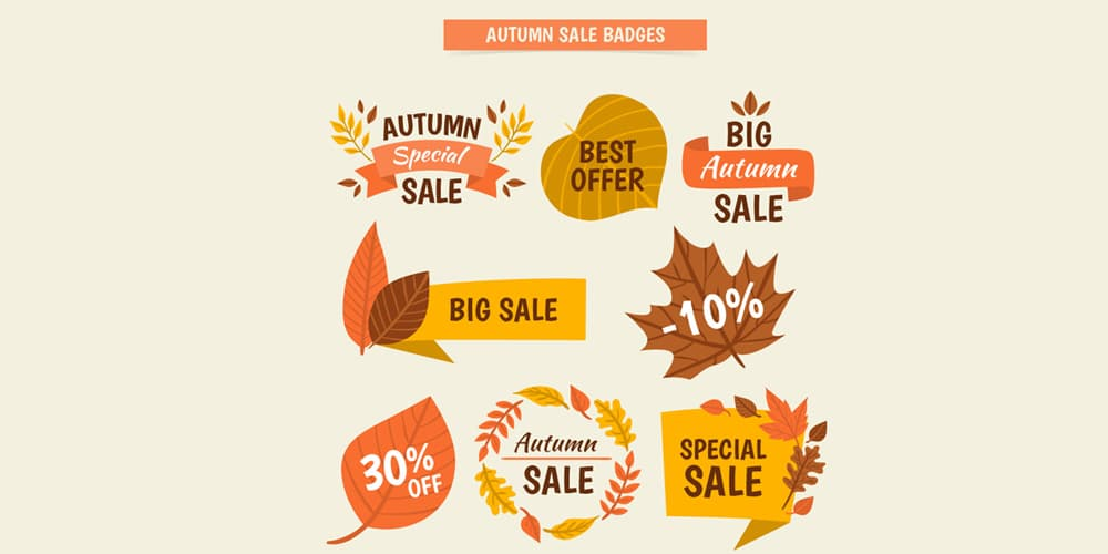Autumn Inspired Vectors