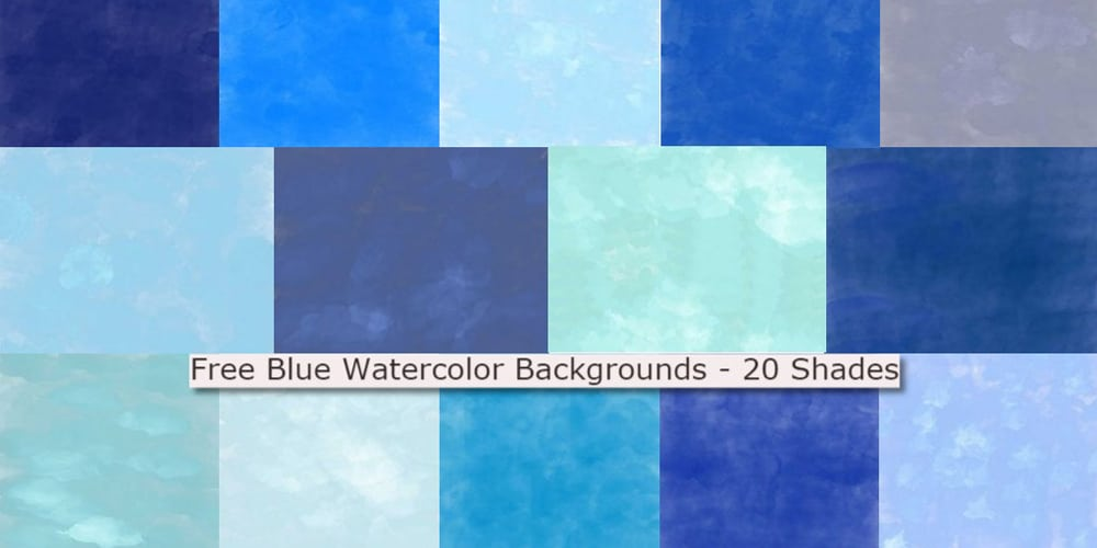 Blue Watercolor Backgrounds