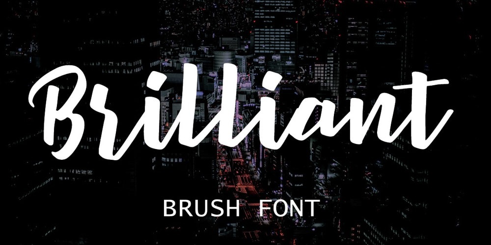 Brilliant Brush Font