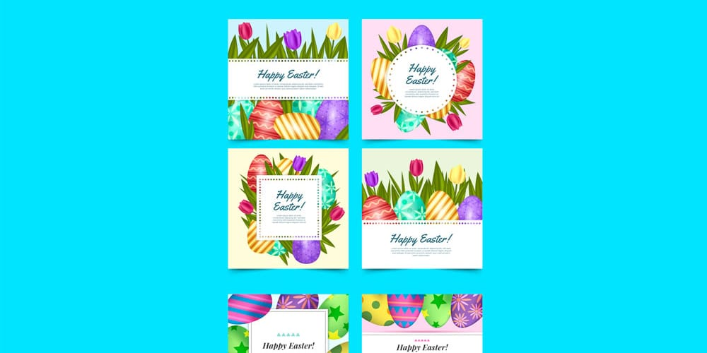Collection of Free Easter Graphics