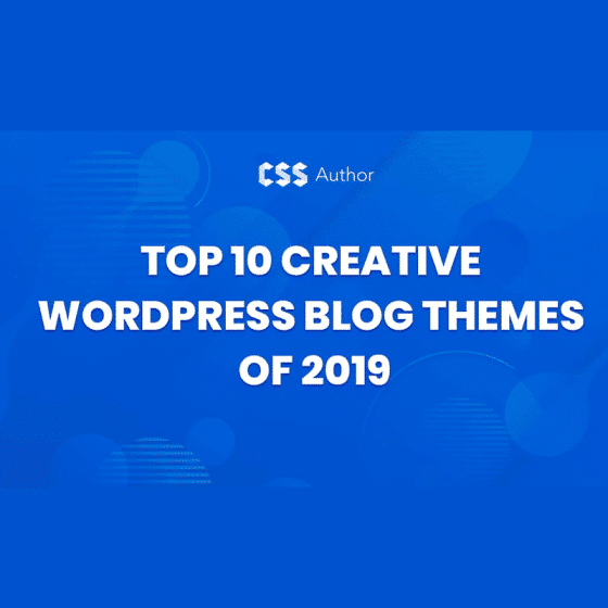 Creative WordPress Blog Themes of 2021