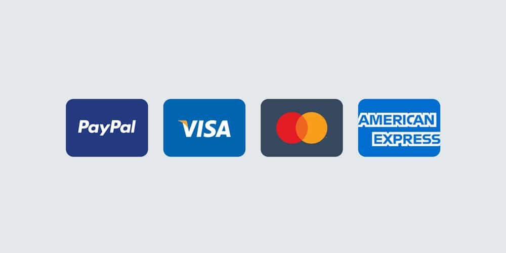 Free Payment Method & Credit Card Icon Set