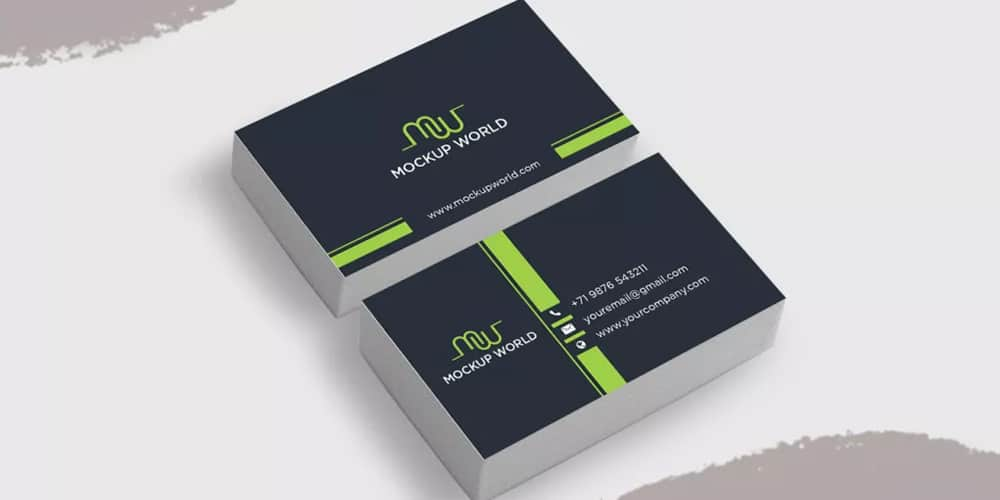 Free Business Card Mockup Design