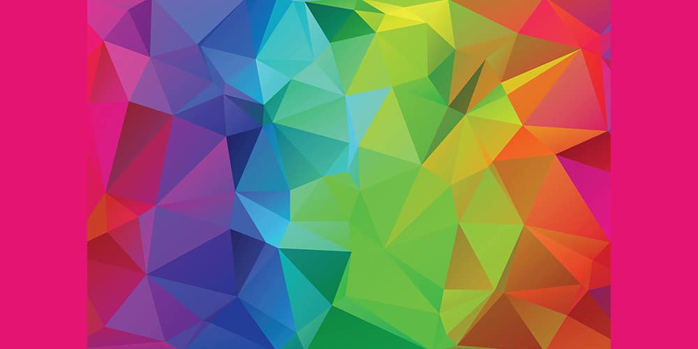 Free Colorful Polygonal Backgrounds