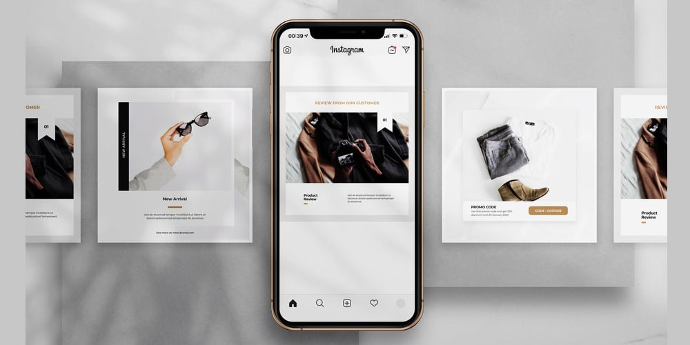 Free Promo Instagram Post Template