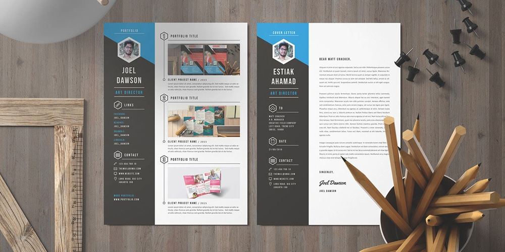 Free-Resume-Template-and-Cover-Letter