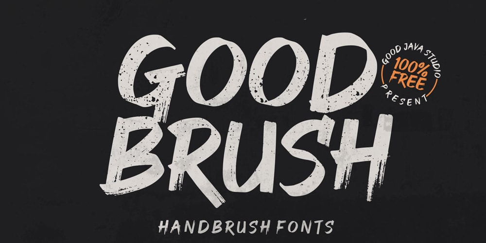 Good Brush Font