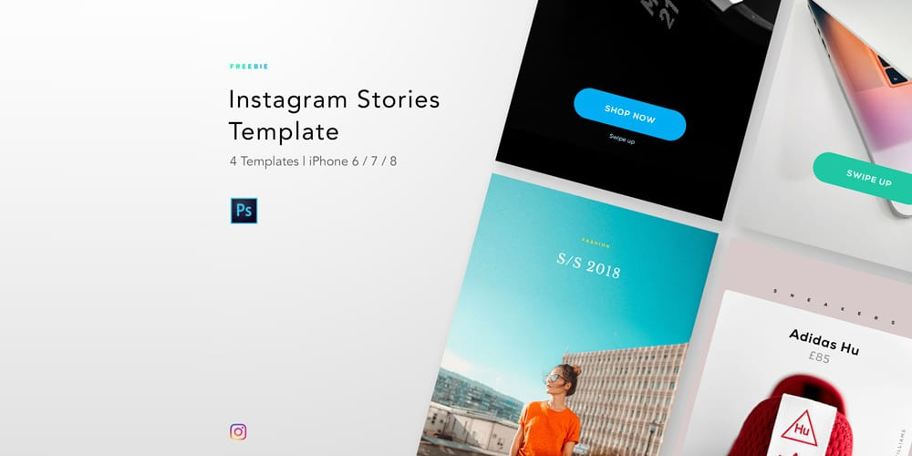 instagram templates for photoshop
