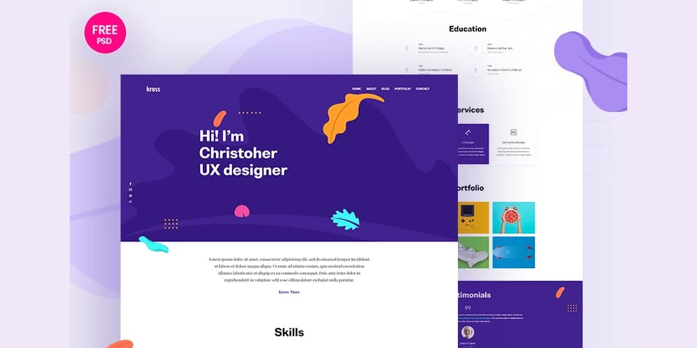 Free Web Templates From 2019 » CSS Author