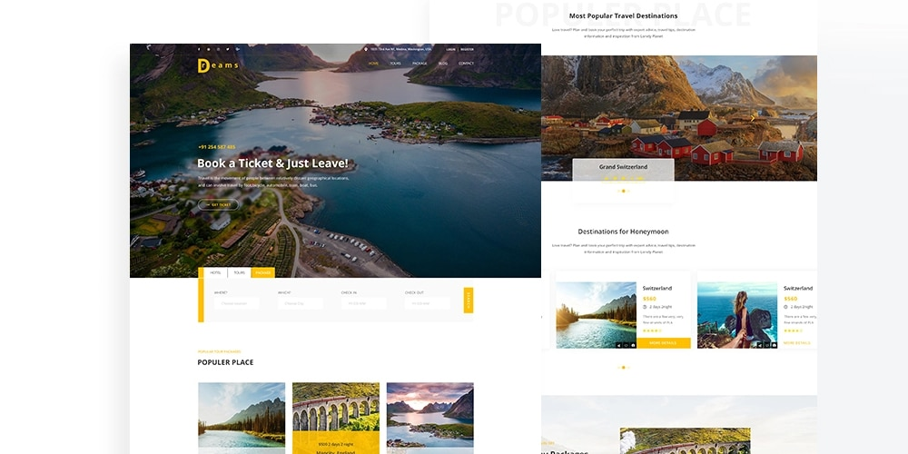 Best Free Web Templates 2019 1