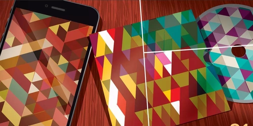 Vector Geometric Backgrounds
