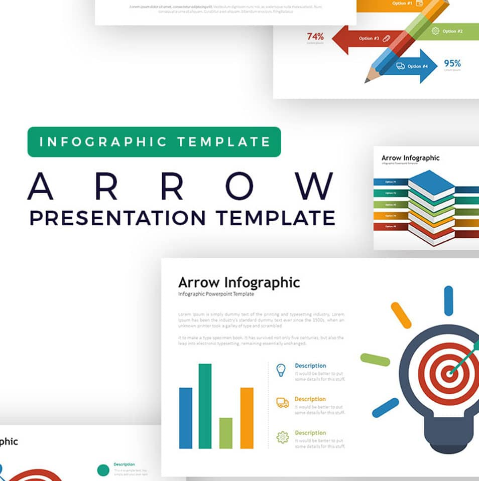 Arrow – Infographic PowerPoint Template