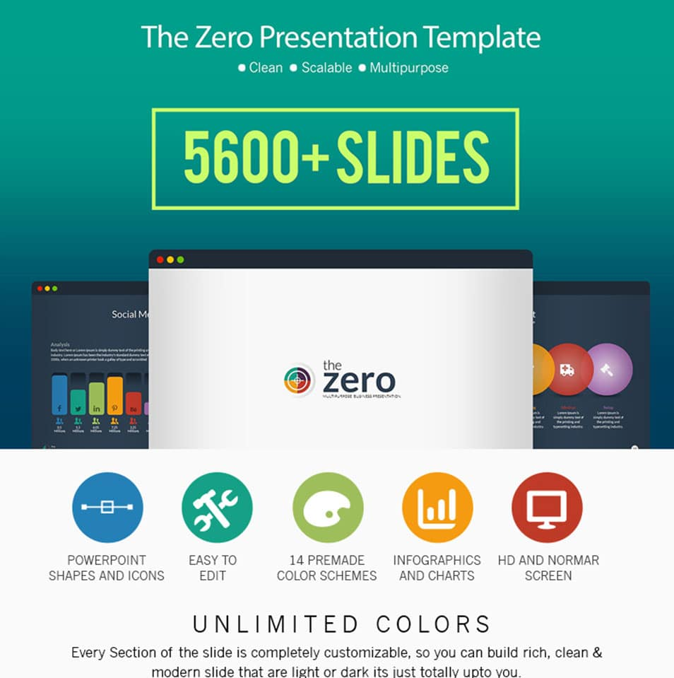 Business Infographic Presentation – PowerPoint Template