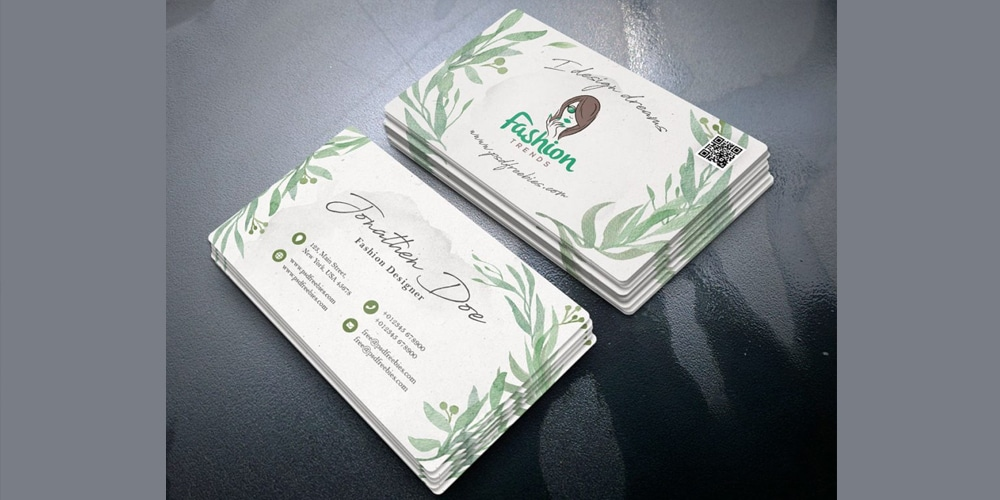 Fashion Designer Business Card PSD