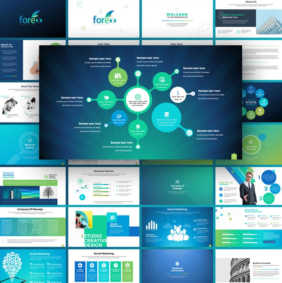 Forex – Multipurpose Infographic PowerPoint Template