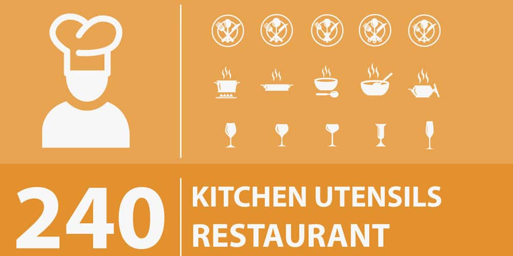 Free Kitchen Restaurant Icons