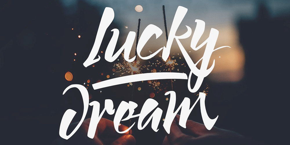 Free Lucky Dream Font